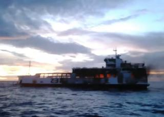 3 dead, 23 missing as Cebu ferry with 174 passengers catches fire