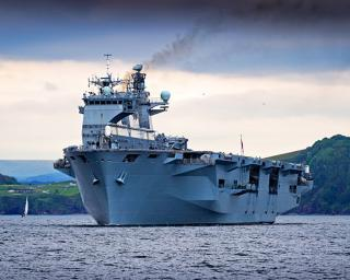 Spotted: HMS Ocean sails for NATO exercise