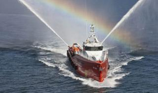 P&O Repasa takes delivery of Damen Fast Crew Supplier Boat 5009 Red Eagle