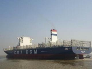 CMA CGM Tigris became the largest vessel to call Brazilian port