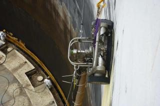 Small device speeds up ship repainting