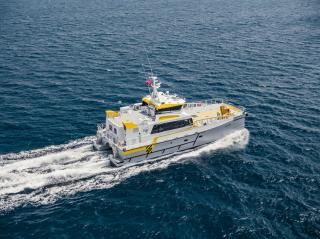 High-Speed Transfers' second Damen FCS 2710 to debut with Shell