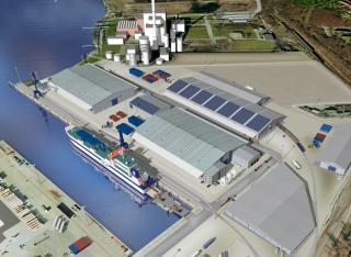 New SCA Logistics Terminal Inaugurated at Kiel's Ostuferhafen Port