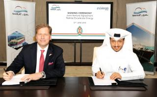 Nakilat signs agreement with Excelerate Energy-USA for first FSRU vessel