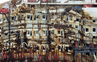 Costa Concordia takes final journey, ready for dismantling