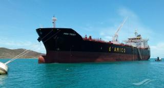 d'Amico International Shipping S.A. announces the sale and lease back of MR product tanker High Trust
