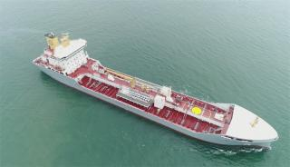 FKAB-designed chemical & product tanker EK-RIVER delivered from Chengxi Shipyard (Video)