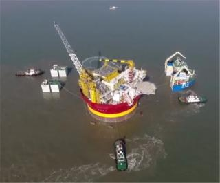 Video: China delivers Dana Petroleum's Western Isles FPSO