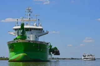 Port of Hamburg starts the deepening and widening works of the river Elbe