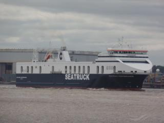 Seatruck Ferries increases capacity and sailing frequency on their Dublin to Liverpool route