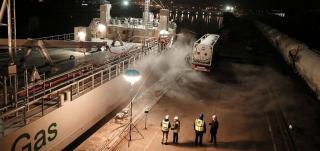 Germany's Port of Rostock completes its first LNG bunkering