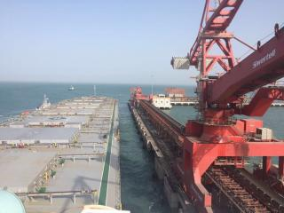 Essar Ports' 20 MTPA dry bulk terminal at Salaya handled maiden Capesize vessel