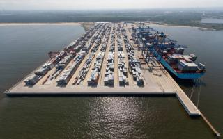 Gdansk's DCT starts construction works on second berth