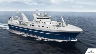 Wärtsilä's new stern trawler design offers greater fuel efficiency