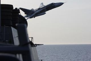 US Navy Ship Encounters Aggressive Russian Aircraft in Baltic Sea (Video)