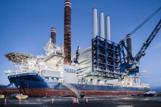 A2SEA's Sea Installer Mobilising For Race Bank Offshore Wind Farm