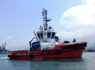 Med Marine Delivered A New 2350 ASD Tugboat To Its Harbour Fleet