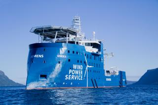 Ulstein Delivers Flexible Vessel For The Offshore Wind Service Industry To BS Offshore