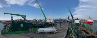 First delivery by Titan LNG in German Port of Mukran