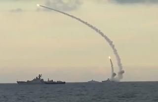 Video: Russian Warship Launches Missiles Against ISIS in Syria