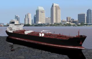 NASSCO laying down a 610-foot eco tanker