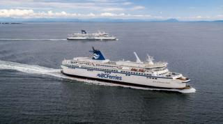 BC Ferries celebrated Earth Day with the return of the Spirit of Vancouver Island