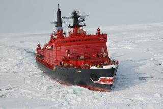 Nuclear-powered icebreaker sent on a tour of duty in the Northern Sea Route