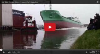Video: Launching of the Arklow Breeze