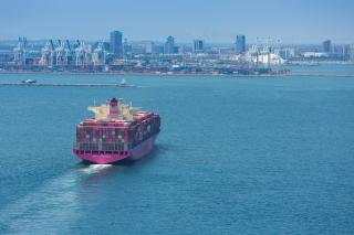 October Cargo Strong in Long Beach