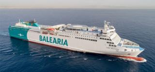 Balearia's third LNG-powered smart ship starts operations in Spain