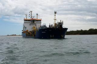 Maintenance dredging at Australia's Port of Weipa