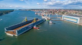 BLRT Grupp completed the modernization of the largest floating dock in the region