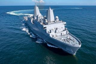 Huntington Ingalls Industries delivers amphibious transport dock Portland (LPD 27) to U.S. Navy
