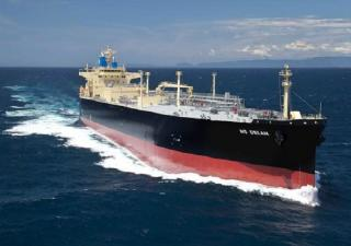LPG carrier with SOx scrubber NS DREAM Delivered