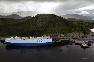ARC Discharges Army and Marine Corps Cargo in Norway for Operation Trident Juncture