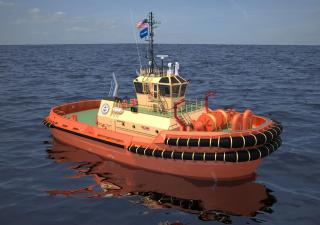 Damen wins 13-tug order from Edison Chouest Offshore