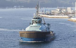 GONDAN delivered AUDAX, its third dual fuel tug