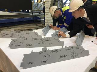 The Construction Of A Second Costa Cruises Ship Starts at Meyer Turku Shipyard