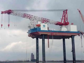 OuYang 1 jacking trial completed