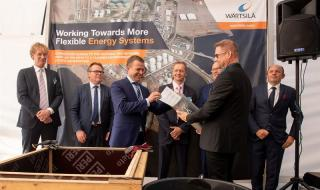 Ground-breaking ceremony held for Wärtsilä built Hamina LNG terminal