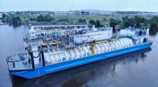 DH Industries' BOG units tested on first US-built LNG barge