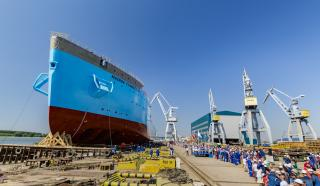 VIDEO: Second Damen Offshore Carrier, Maersk Connector, Launched