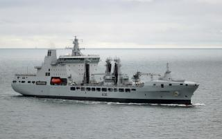 The UK Royal Fleet Auxiliary's Tide Class Tankers Delivered, Powered by GE