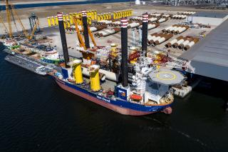 After major upgrade, Aeolus starts work on Belgium's largest offshore wind farm (Video)