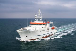 Damen Shipyards Galati hands over 74-metre Fishery Research Vessel to Angolan Government