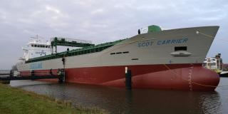 Scotline takes delivery of cargo ship Scot Carrier