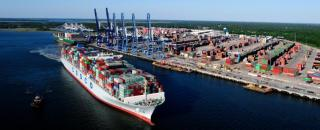 South Carolina Ports Reports Record April for Container Volumes, Inland Port