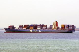 New Shipping Line and Global Carrier ONE calls at Aqaba Container Terminal