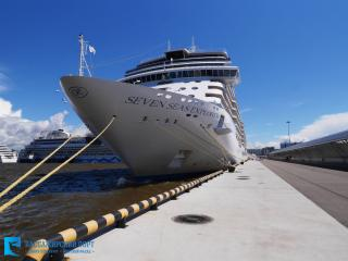 Passenger Port of Saint-Petersburg welcomes inaugural call of Seven Seas Explorer