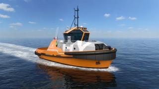 Wärtsilä HYTug design with hybrid propulsion can meet stringent environmental demands of new Brazilian port
